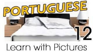 Learn Brazilian Portuguese With Pictures -- In The Bedroom