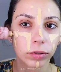 Maquiagem Rápida Simples em 1 minuto  Video - Simple Quick Makeup Video in 1 minute - Makeup Tutoria