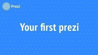 Prezi Tutorial: My First Prezi
