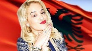 Flamuri Madheshtor Shqiptar - Magnificent Albanian Flag HD