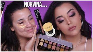 ABH NORVINA PALETTE MAKEUP TUTORIAL, REVIEW + FIRST IMPRESSIONS! | Watch Before You Buy!