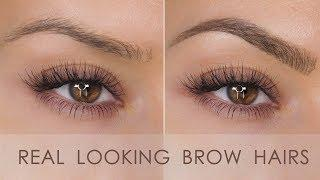 Natural Looking Eyebrow Tutorial - Microblade Effect | Shonagh Scott