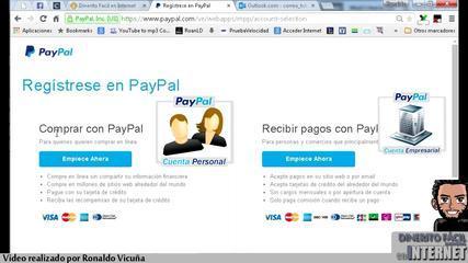 Tutorial Paypal - Creación Y Modificación De Cuentas