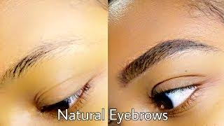 Natural Eyebrows Tutorial 2017 (with Pencil)