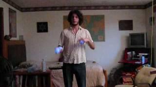 Symmetrical Georgian Shuffle: Juggling Tutorial 23