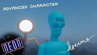 Dreams PS4 | Advanced Character Tutorial (Blinking,Talking, New Limbs)
