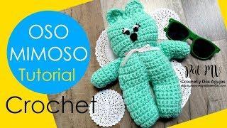 Oso Mimoso Fácil de Tejer / Tutorial Crochet