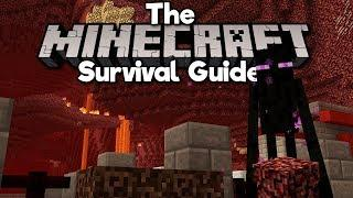 Expanding Your Nether Hub! ▫ The Minecraft Survival Guide (Tutorial Lets Play) [Part 21]