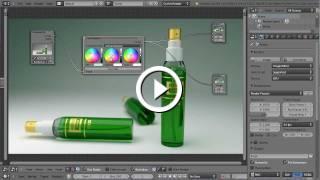 Blender 3D Tutoriel Français - Cycles - Cosmetic Packaging