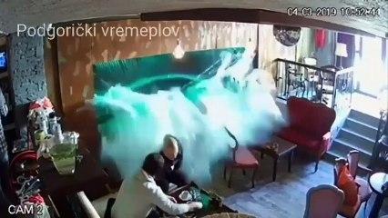 Quand un aquarium explose en plein bar sur les clients
