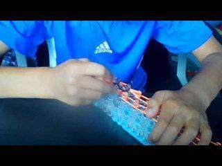 rainbow loom shoelace tutorial
