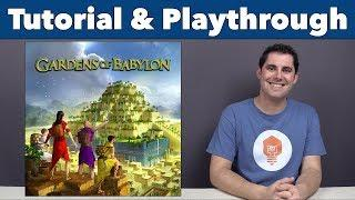 Gardens of Babylon Tutorial & Playthrough - JonGetsGames