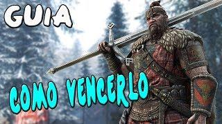 GUIA FOR HONOR | COMO VENCER AL CELTA (HIGHLANDER) | TUTORIAL Español