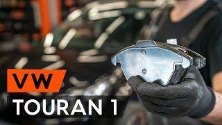 Wie VW TOURAN 1 (1T3) Bremsbeläge vorne wechseln [TUTORIAL AUTODOC]