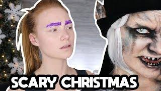 SCARY Christmas Elf Tutorial | Prosthetic/SFX Makeup