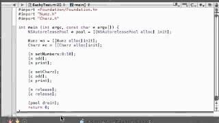Objective C Programming Tutorial   40   Running A Polymorphic Program