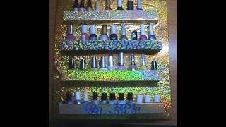 ♥ DIY Nail Polish Organization Storage Shelf Rack Tutorial ♥ ( • ◡ • )