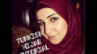 Turkish Hijab Tutorial- لفت الحجاب التركي