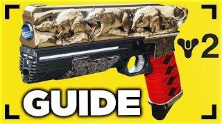 Destiny 2 - HOW TO GET THE RAT KING Exotic Quest 6X DAMAGE SIDEARM Tutorial (Destiny 2 Exotic)