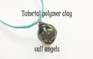 FIMO Tutorial Polymer Clay Call Angels // Angelcatcher  ENGLISH