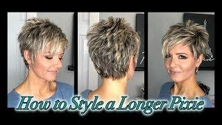 Hair Tutorial: Styling a Longer Pixie without Spikes!