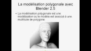 #20 - Tutorial Blender 2.5 Français:Introduction à La Modélisation Polygonale