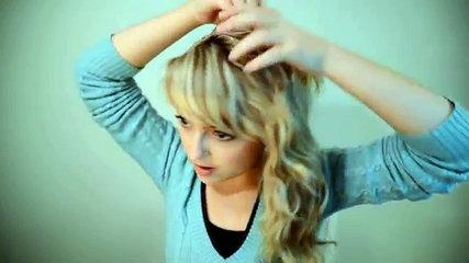Elsa coronation hair tutorial