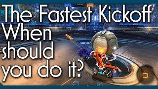 Tutorial: How to Properly Use the Fastest Kickoff in Rocket League