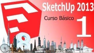 Sketchup 2013, Tutorial Como Descargar Sketchup Make, Curso Básico Español Capitulo 1