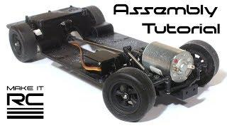 Make It RC FFR SC1 Rolling Chassis Assembly Tutorial