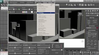 3D Studio Max 2010 Tutorial - Iluminacioin , Render -  Mental Ray, Daylight System 1280x720 True HD