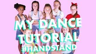 Dance Tutorial HANDSTAND (learn to dance with me!) | Rosie McClelland