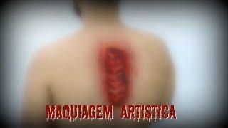 TUTORIAL DE MAQUIAGEM ARTÍSTICA - COLUNA POR KAREN LIMA