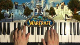 How To Play - World Of Warcraft - Stormwind (PIANO TUTORIAL LESSON)