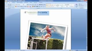Microsoft Office Word 2007 Tutorial Italiano Quarta Parte Windows 7