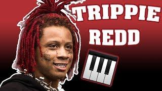 Trippie Redd Melody and Chords Beat Tutorial [FREE DOWNLOAD] Pt. 1