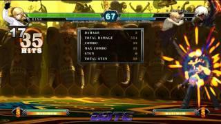 KOF XIII: King Combo Tutorial - King, The Muay Thai Bouncer.