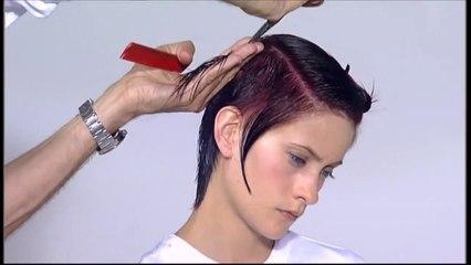 Vidal Sassoon Haircut - Asymmetrical Pixie Haircut Tutorial