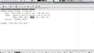 IRC Tutorial Lesson 3 : Chatting In Private (Arabic Version)