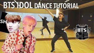 BTS (방탄소년단) 'IDOL'  Dance Tutorial   Full w Mirror [Charissahoo]