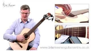 Spanish Romance (Romanza) Classical Guitar Lesson&Tutorial With Brian Keenan PART 3/4