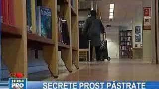 Suedia: Documente Secrete, Rătăcite într-o Bibliotecă Public