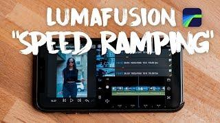 "LumaFusion ""Speed Ramping Effect"" Tutorial."