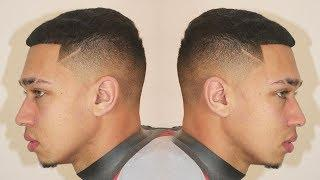 HAIRCUT TUTORIAL: SIMPLE FADE TUTORIAL WITH DESIGN || ARICHMAN PEREZ