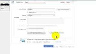 QuickBooks Pro 2014 Tutorial: Setting Up The Chart Of Accounts - Part 1
