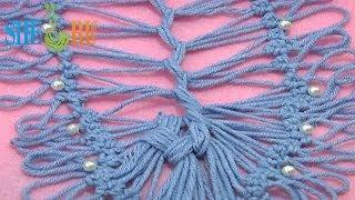 How To Join Hairpin Lace Strip Tutorial 18 Part 4 Of 4 U Shape Joining