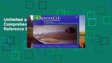 Unlimited acces OpenGL SuperBible: Comprehensive Tutorial and Reference Book