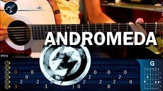 Como Tocar ANDROMEDA - Zoe - En Guitarra Acustica (HD) Tutorial