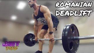 How To Perform Romanian Deadlift - Hamstring Leg Exercise