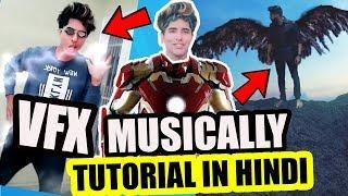 VFX MUSICALLY TIK TOK TUTORIAL IN HINDI | HOW TO MAKE VFX EFFECT IN MUSICALLY ANDROID MAGIC LIKE APP